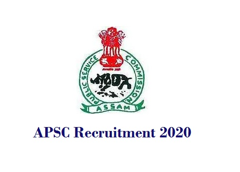 APSC Recruitment for Assistant Engineer, Junior Engineer & Assistant Architect Posts 2020